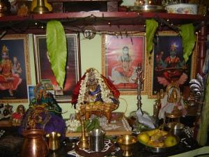 சென்னையில் ஒரு சினேகிதர் வீட்டின் பூஜை