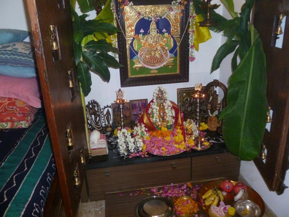 எங்கள் வீட்டு  வரலக்ஷ்மி பூஜை (1/6)