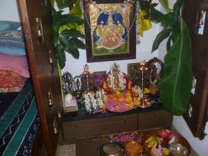 எங்கள் வீட்டு  வரலக்ஷ்மி பூஜை
