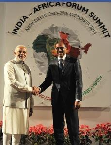இந்தியப் பிரதமரும், UNIDS தலைவரும்