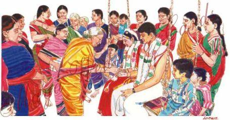 iஅந்தக்கால அழகிய குடும்பம்