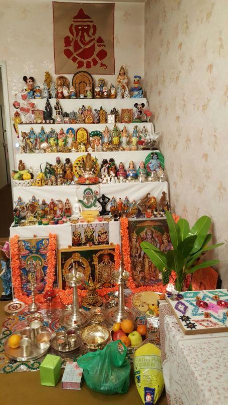 கீதா கிருஷ்ணமூர்த்தி மாமியின் கொலு.